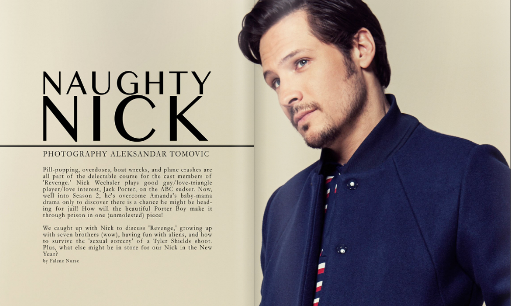 nick wechsler en couple